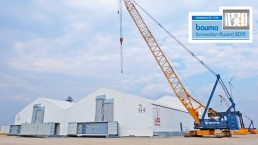 Mobile Fabrication in Thailand - bauma innovation award news, Max Bögl Wind AG