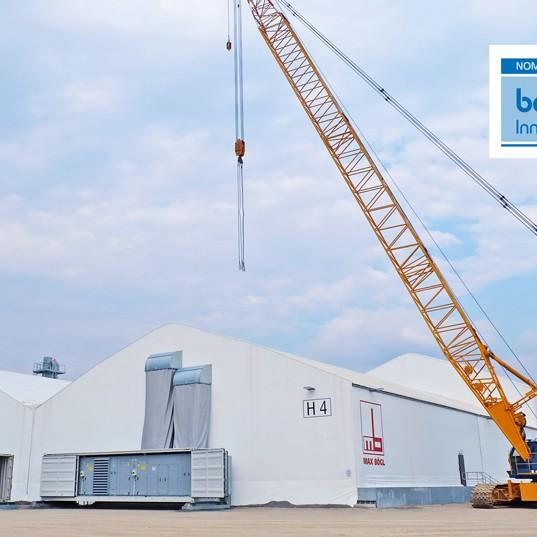 Mobile Fabrication in Thailand - bauma innovation award news, Max Bögl Wind AG