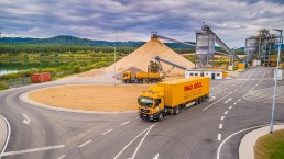Mobile Fabrication transport - news, Max Bögl Wind AG