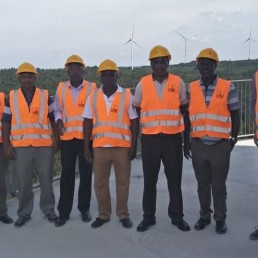 Kenyian delegation visited Water Battery - News