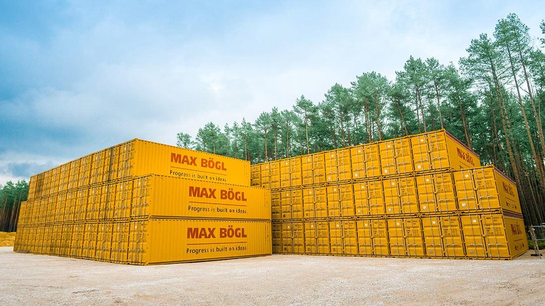 Container Mobile Fertigung