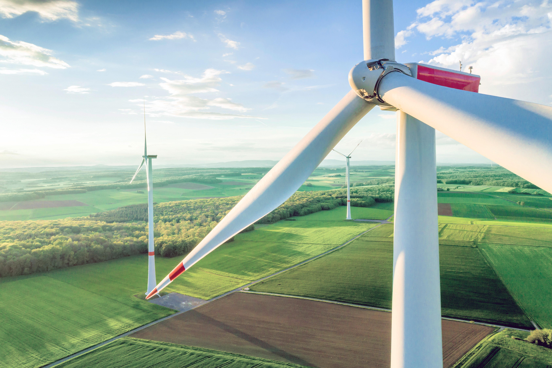 Hybrid Tower I Wind farm Obbach
