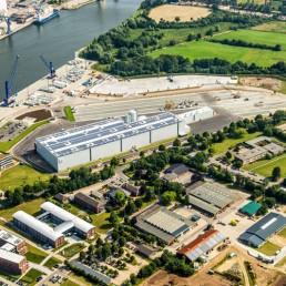 Factory Osterrönfeld - Max Bögl Wind AG