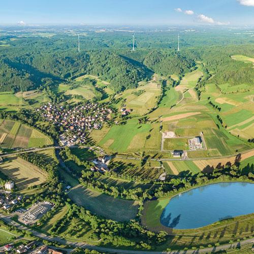 Wasserbatterie I Gaildorf Ausblick 2019