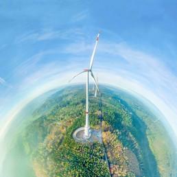 Water Battery key visual- Max Bögl Wind AG